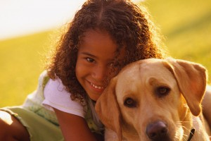 Pets + Kids = More Activity and Healthier Skin